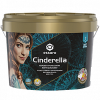 Матовая краска Eskaro Cinderella EasyCare 9л стойкая к загрязнениям