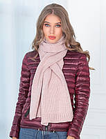 Женский зимний теплый шарф шерсть акрил