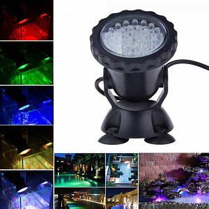Светильник для пруда36 LED RGB