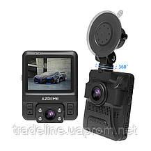 Видеорегистратор AZDOME GS65H, FullHD+720P, GPS, 2 камеры, Novatek 96655, фото 3