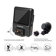 Видеорегистратор AZDOME GS65H, FullHD+720P, GPS, 2 камеры, Novatek 96655, фото 2