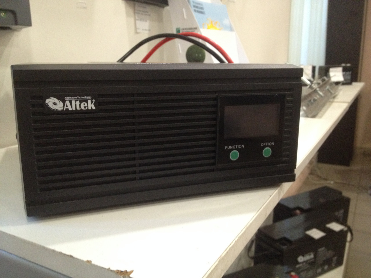 Преобразователь напряжения с зарядным устройством SK12 600VA/480W DC12V