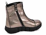 Ботинки подростковые для девочки из натуральной кожи от производителя модель МАК1571, фото 2