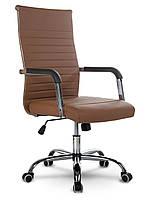 Кресло офисное Sofotel Boston коричневый (9108)