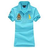 У стилі Ральф поло жіноча поло бавовна ралф жіноча футболка, фото 2