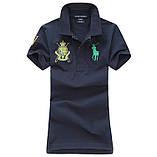У стилі Ральф поло жіноча поло бавовна ралф жіноча футболка, фото 4
