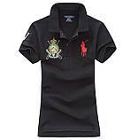 У стилі Ральф поло жіноча поло бавовна ралф жіноча футболка, фото 5