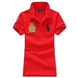У стилі Ральф поло жіноча поло бавовна ралф жіноча футболка, фото 6