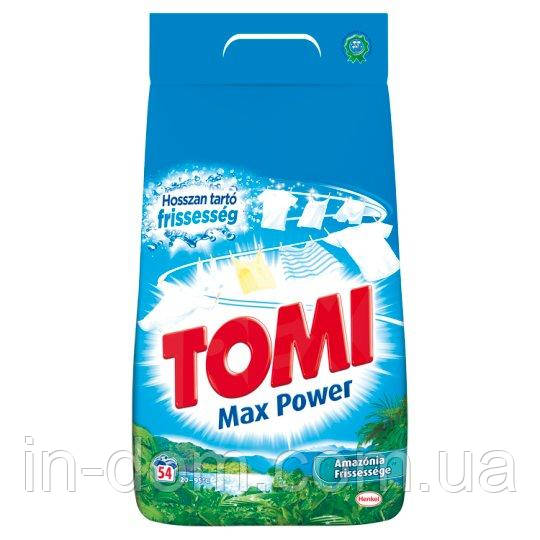 Tomi Max Power Amazonia Fresh універсальний порошок для прання Свіжість Амазонії 3,51 кг на 54 прання Австрія