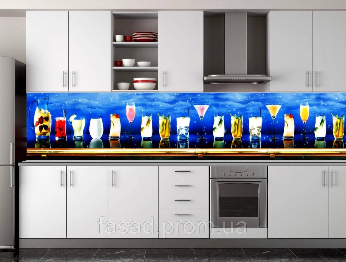 Скіналі для кухні (ламінована наклейка) Кухонний фартух розмір 600*3000 мм. Код-10251