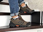 Мужские зимние кроссовки Adidas Climaproof (коричневые), фото 3