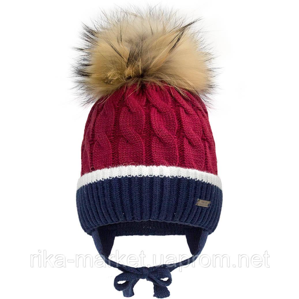 Зимняя шапка для мальчика, Davidstar.2099, от 1,5 до 3 лет