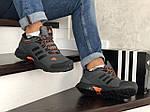 Мужские зимние кроссовки Adidas Climaproof (серые), фото 3