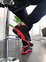 """Кроссовки мужские Nike Air Jordan 13 """"Black/Red"""".  ТОП КАЧЕСТВО!!! Реплика"""