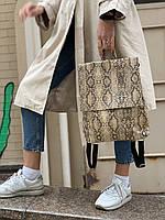 Рюкзак KL1x12 змія беж, фото 1