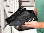 Мужские кроссовки Adidas Yeezy Boost 700 (черные), фото 3