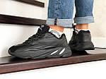 Мужские кроссовки Adidas Yeezy Boost 700 (черные), фото 4