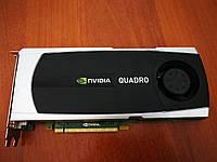 Видеокарта Nvidia Quadro 5000 \ 2560MB GDDR5 (320bit) (513/3000)