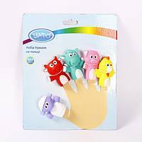 Набір іграшок на пальці для немовлят Ліндо P 268
