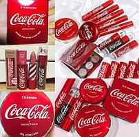 Матовая стойкая помада Coca Cola thefaceshop color lasting 12 натуральных оттенков