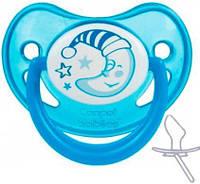Пустышка силиконовая анатомическая 6-18 месяцев Night dreams от Canpol babies