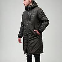 Куртка мужская зимняя парка камуфляж