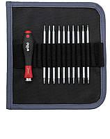 Набор комбинированных жал 11 предметов SL / PH / TORX® / HEX / Ball end HEX SYSTEM 4 Wiha 27820