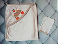 Полотенце детское для купания Утенок