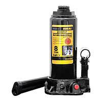 Домкрат гидравлический бутылочный 8т H 230-457мм Sigma (6101081)