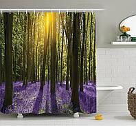 Штора для ванной Весенний лес 180 х 180 см Berni