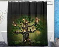 Штора для ванной Мистическое дерево 180 х 180 см Berni