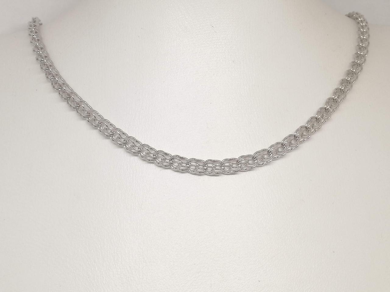 Срібний ланцюжок (Бісмарк). Артикул 880031С 60