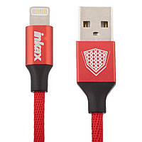 Кабель Inkax CK-27 USB - Iphone 5/6/7  Lightning 1m