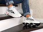 Мужские кроссовки Adidas Yeezy Boost 700 (белые), фото 3
