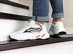 Мужские кроссовки Adidas Yeezy Boost 700 (белые), фото 4