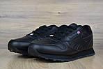 Мужские кроссовки Reebok Classic 1983 (черные), фото 4