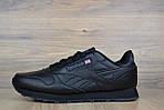 Мужские кроссовки Reebok Classic 1983 (черные), фото 5