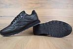 Мужские кроссовки Reebok Classic (черные), фото 4