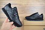 Мужские кроссовки Reebok Classic (черные), фото 7