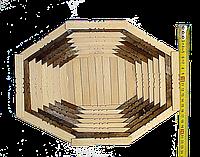 Деревянная тарелка, фото 1