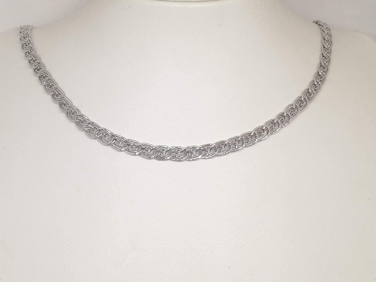 Срібний ланцюжок (Бісмарк). Артикул 880026С 65