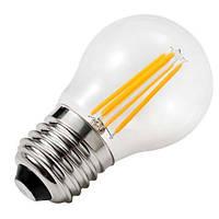 Светодиодная ретро лампа филамент 5w E27 шарик ZL 14505274FT