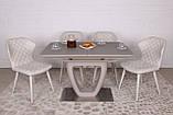 Стол обеденный TORONTO 120/160х80 стекло капучино Nicolas (бесплатная доставка), фото 10