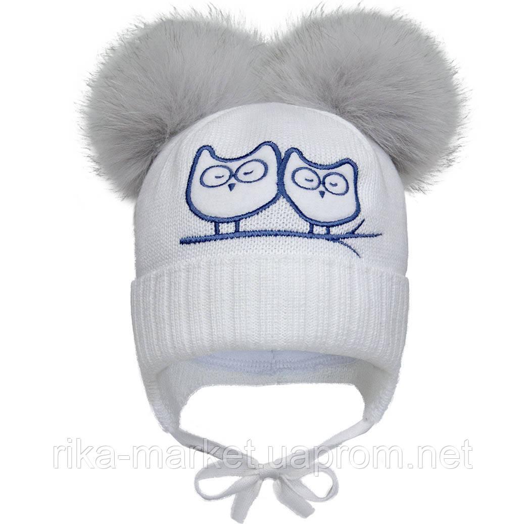 Зимняя шапка для девочки, David`star.2097, от 9 до 12 месяцев