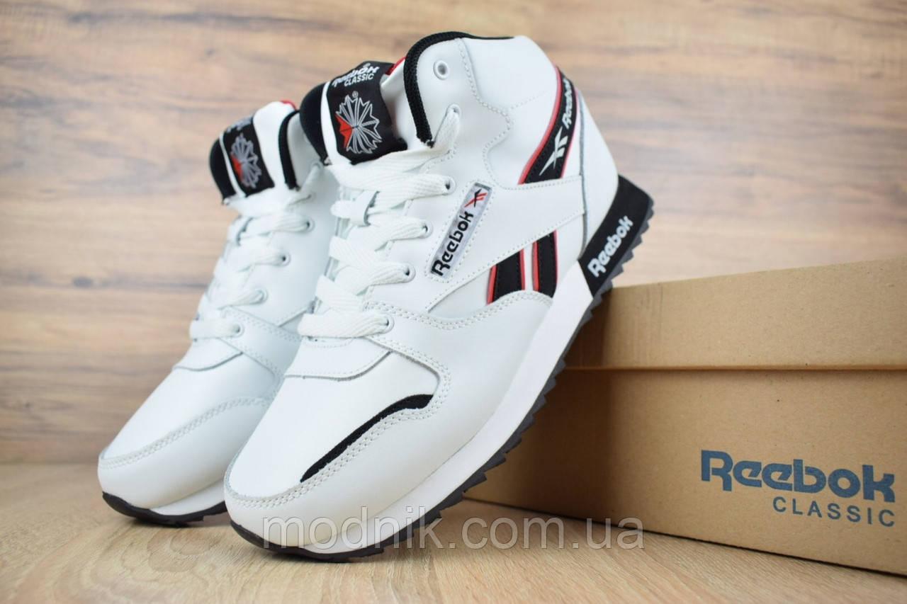 Мужские зимние кроссовки Reebok (белые)