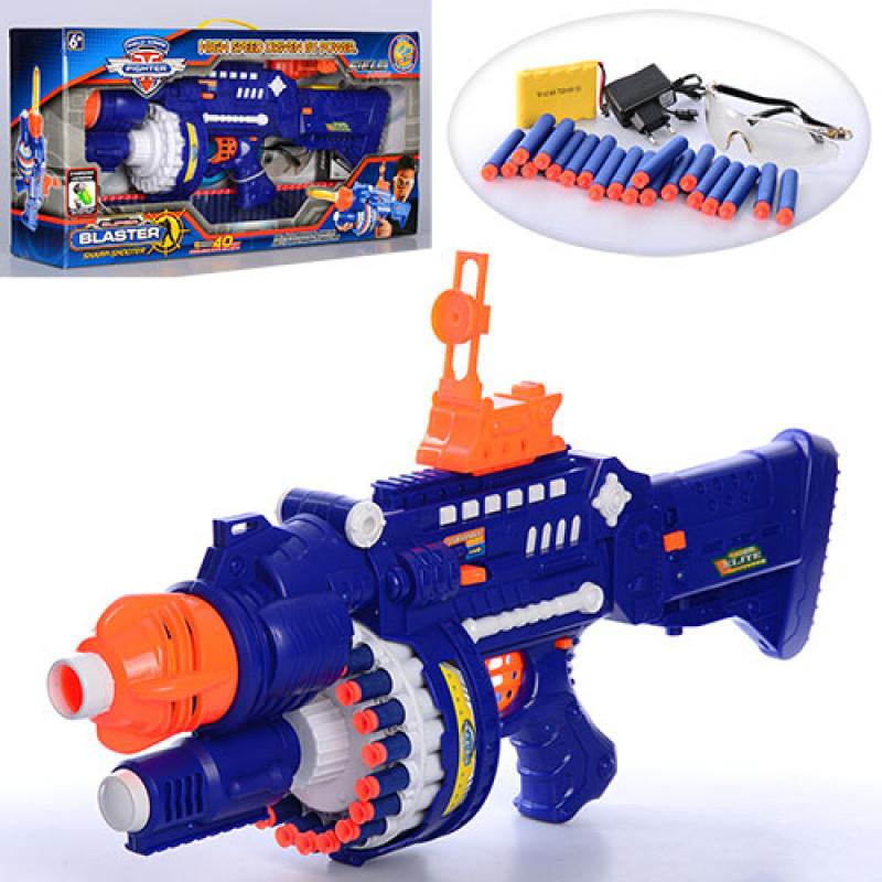 Игрушечный автомат Blaster бластер с поролоновыми пулями SB250