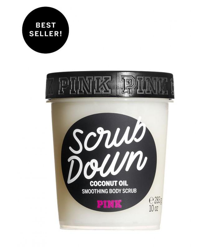 Скраб для тела с кокосовым маслом из серии SCRUB DOWN PINK Victoria s Secret