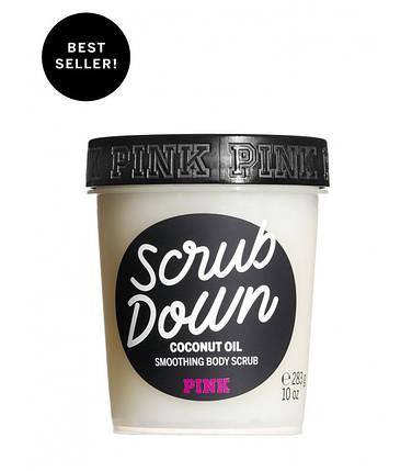 Скраб для тела с кокосовым маслом из серии SCRUB DOWN PINK Victoria s Secret, фото 2