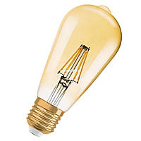 Светодиодная винтажная лампа COW LED ST64 8W Amber 2700K E27 RC