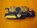 Плата с  кнопкой включения и USB портами Samsung Q530, BA92-06494A бу, фото 2